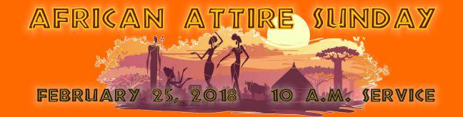 Africam Attire2018