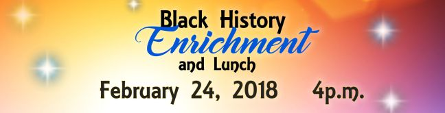 Black History Enrichment 2018