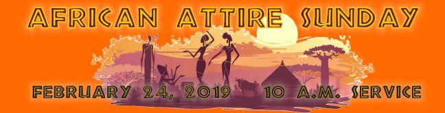 Africam Attire2019