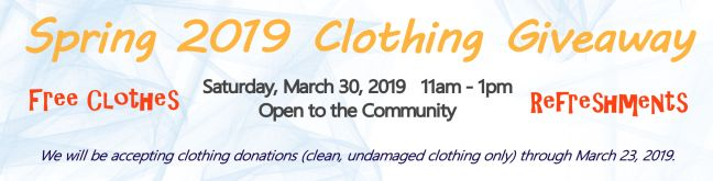 Clothing Giveaway 2019