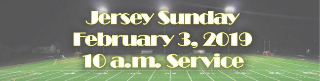 Jersey Sunday 19