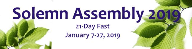 Solemn Assembly 2019